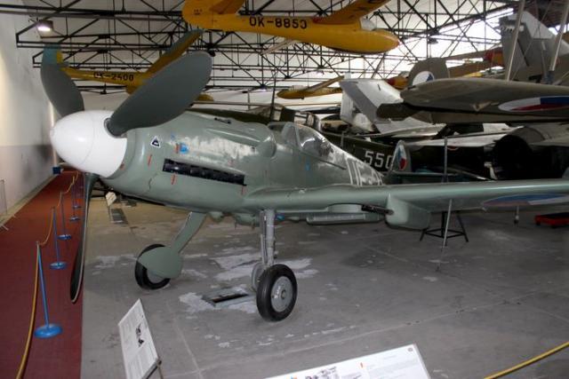 Avia s 199 messerschmitt bf 109 g k