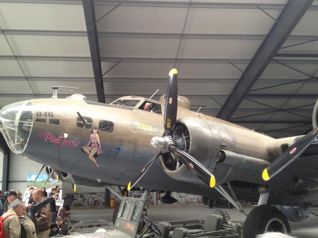 Boeing b 17 pink lady 3