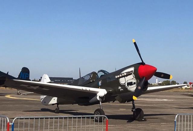 Curtiss p 40n 5 cu