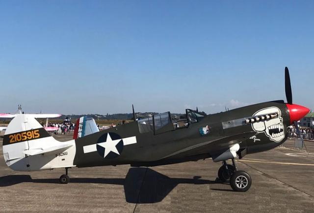 Curtiss p 40n f azku