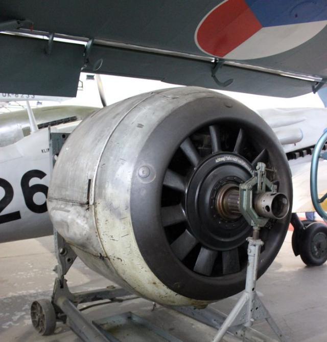 Focke wulf fw 190a engine
