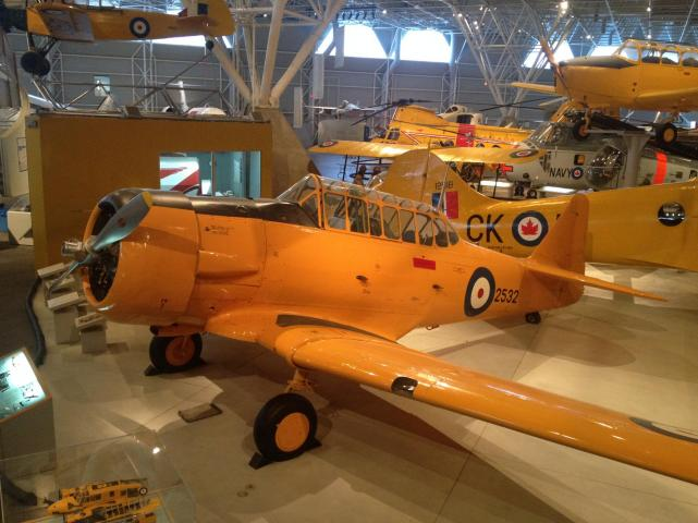 North american harvard ii c
